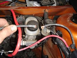 gn org view topic how to battery relocation w pics now integral stock battery ground cable starter now has a dedicated ground ground location on fender near underhood fuse box can be retained