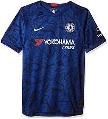 Live the passion of soccer…. Amazon Com Nike Youth Chelsea 2019 20 Home Soccer Jersey Clothing