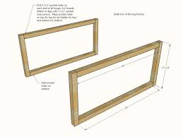coffee table leg frames