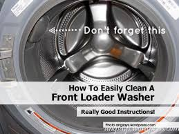 Cleaning Front Load Washing Machine Front Loader Washer Angsays Wordpress Comjpg