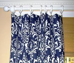 wonderful feminine shower curtain damask shower curtain with navy blue white color also fl prints ideas