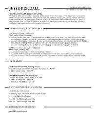 hospice nurse resume examples