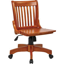 image is loading office star deluxe armless wood bankers office chair