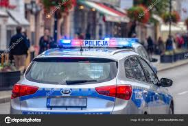 Why Are Police Lights Red And Blue Police Car Patrol Flashing Red Blue Neon Warning Lights