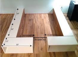 ikea storage bed hack. An IKEA Hack! Super Easy DIY Bed Frame With Storage Ikea Hack 2