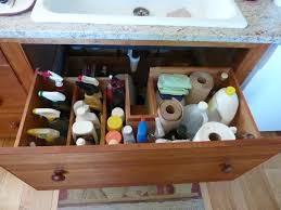 Under Kitchen Sink Storage Clever Solutions For Under Kitchen Sink Storage Plumbing