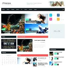 Free Html Newspaper Template Responsive Bootstrap Newspaper Template Ecology Theme