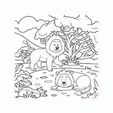 Leeuwen Kleurplaten Leuk Voor Kids