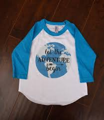 Little Adventures Size Chart Let The Adventure Begin Kids Toddler Infant American Apparel Baseball Tee