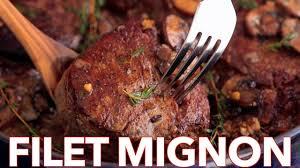 Cooking Light Seared Sliced Beef Sirloin 14 Oz Filet Mignon Recipe In Mushroom Sauce Video Natashaskitchen Com