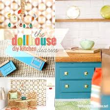 homemade dollhouse furniture. Homemade Dollhouse Furniture Ideas The Kitchen Pinterest M