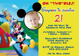 Free Mickey Mouse Template Download Mickey Mouse Clubhouse Invitation Template Free Download