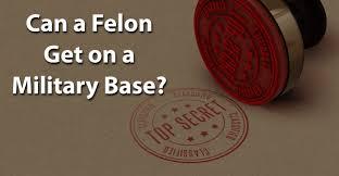 Felony Chart Nc Can A Felon Get On A Military Base Jobsforfelonshub Com