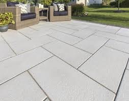 large concrete pavers patio slabs