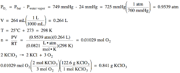 gas constant formula. section 5-7: experiment \u2013 determining the gas constant r formula g