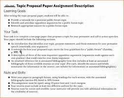 Project Proposal Apa Format Research Paper Proposal Example Apa