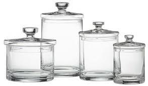 bathroom glass storage jars uk thedancingpa com