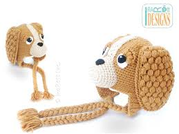 Crochet Dog Pattern Magnificent CoCo The Spaniel Puppy Dog Hat PDF Crochet Pattern IraRott Inc