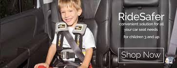 ridesafer travel vest car seat