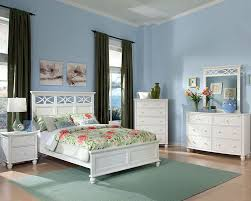 Sanibel Bedroom Furniture Bedroom Set Sanibel In White El2119wset