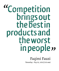 Competition Quotes Magnificent Quotes About Negative Competition 48 Quotes