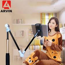 Arvin <b>Adjustable Tablet Holder Stand</b> Flexible Lounger Bed Desktop ...