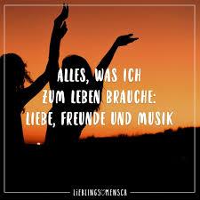 Alles Was Ich Zum Leben Brauche Liebe Freunde Und Musik Visual