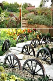 decorative garden wagon