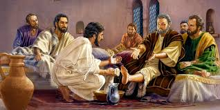 Image result for picture verses of Jesus washing feet