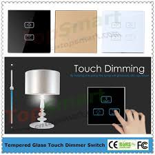 2 key 1 load rf remote control light dimmer touch switch