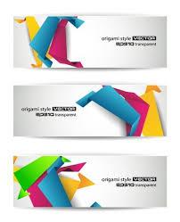 Flyer Header Set Of Abstract Modern Header Banner For Flyer Or Website