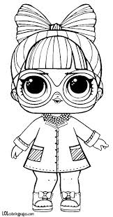 Phdbb Series 3 Lol Surprise Doll Coloring Page Dolls