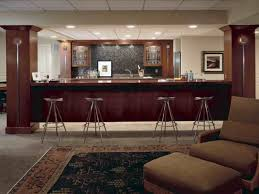Cool Basement Bar Bar Kits For Lighting Ideas The Bar Downstairs Has