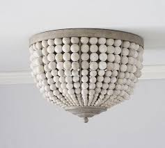home and interior astounding flush mount chandelier mia flushmount pottery barn kids from flush mount