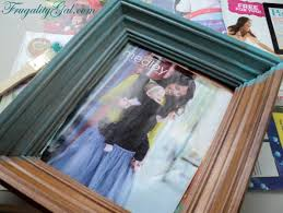 diy distressed frame tutorial using tools that we all have at home if