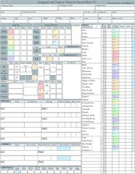 dungeons and dragons character sheet online 29 best character sheets images on pinterest dnd character sheet