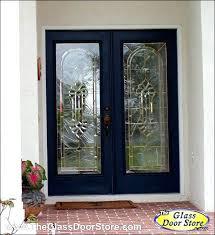 leaded glass door inserts glass front door inserts baroque glass in double door inserts they look