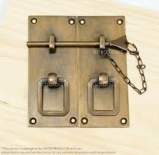 Vintage Cabinet Latches Vintage Solid Brass Retro Drawer Latch Cabinet Latch Door Box
