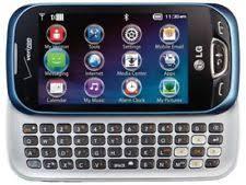 lg phone verizon touch screen. lg extravert 2 vn280 - blue (verizon) cellular phone lg verizon touch screen