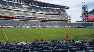 seat view for lincoln financial field section 116