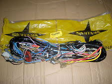 car wiring looms for land rover genuine santana land rover 88 ligero dash wiring harness loom part no 172608