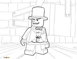Lego Dc Superheroes Coloring Pages My Localdea