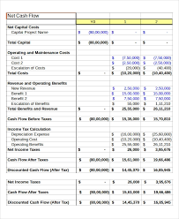 Cash Flow Sheets Cash Flow Excel Template 13 Free Excels Download Free