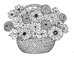 Free Flower Coloring Pages Download By Tablet Desktop Original Size