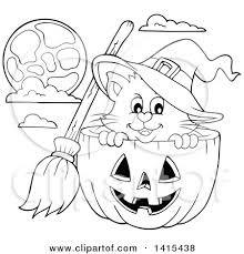 halloween cat clipart black and white. Simple Black Inside Halloween Cat Clipart Black And White B