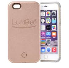 Lumee Light Case Iphone 7 Rose Gold Lumee Light Up Selfie Case For Iphone 6 Depop