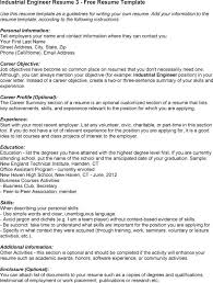 industrial resume objective common resume objectives