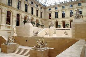 visitor trails from palace to museum 800 years of history louvre museum paris