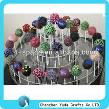 Push Pop Display Stand 100 Tier Large Round Cake Push Pop Cupcake Stand Clear Acrylic 72
