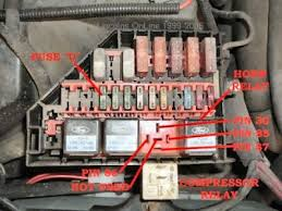 1995 lincoln continental how do i fix the air ride system how the air suspension works the system consists of a compressor built in vent solenoid and air drier compressor relay
